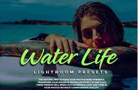 45 Preset Lightroom Water Life tạo màu nước đẹp (Desktop)