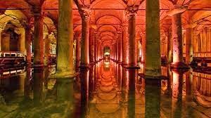 Basilica Cistern - Tempat Wisata Turki yang Aneh