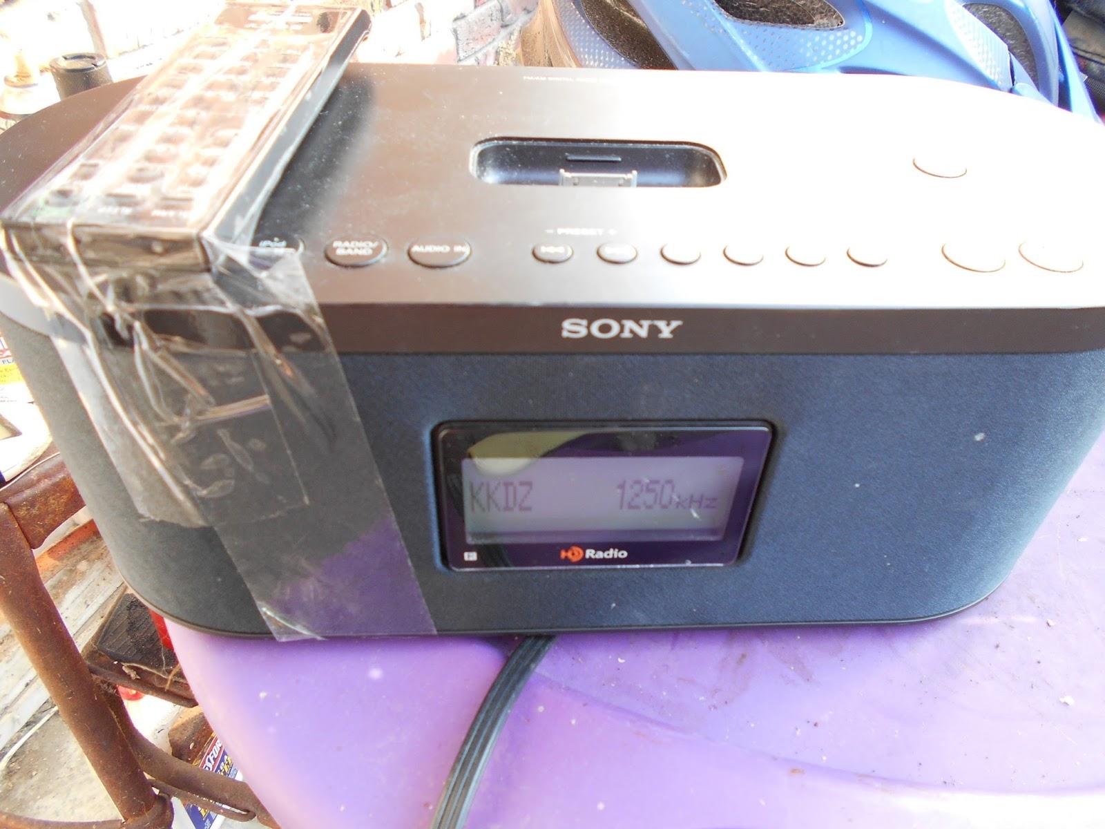 interrock nation a sony xdr s10hdip hd radio new thrift store find rh interrocknation blogspot com Sony Stereo with iPod Dock Sony XDR-S10HDiP HD Radio