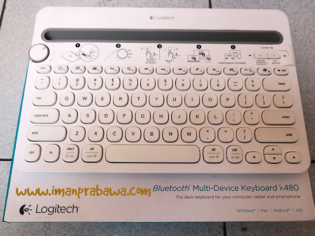 Review Keyboard Bluetooth Logitech K480