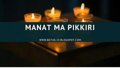 Lirik Manat Ma Pikkiri