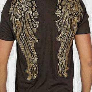 Wings t shirt, # 14 Tops with flames or wing