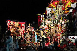 Hachinohe Sansha Taisai Dashi Float 八戸三社大祭 山車