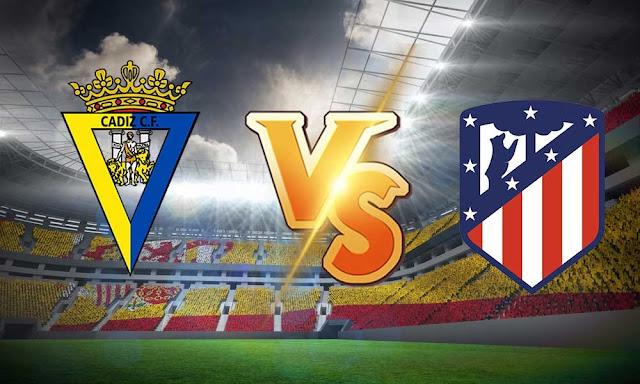مشاهدة مباراة أتليتكو مدريد وقادش اليوم بث مباشر