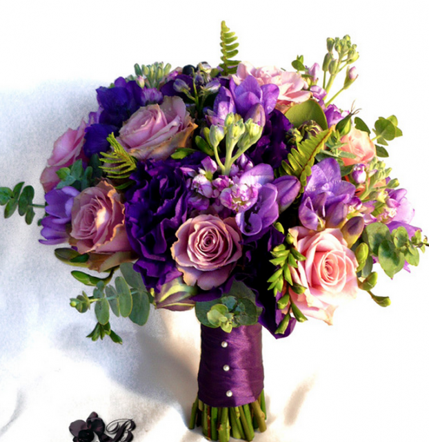 Purple Flower Bouquet Pictures