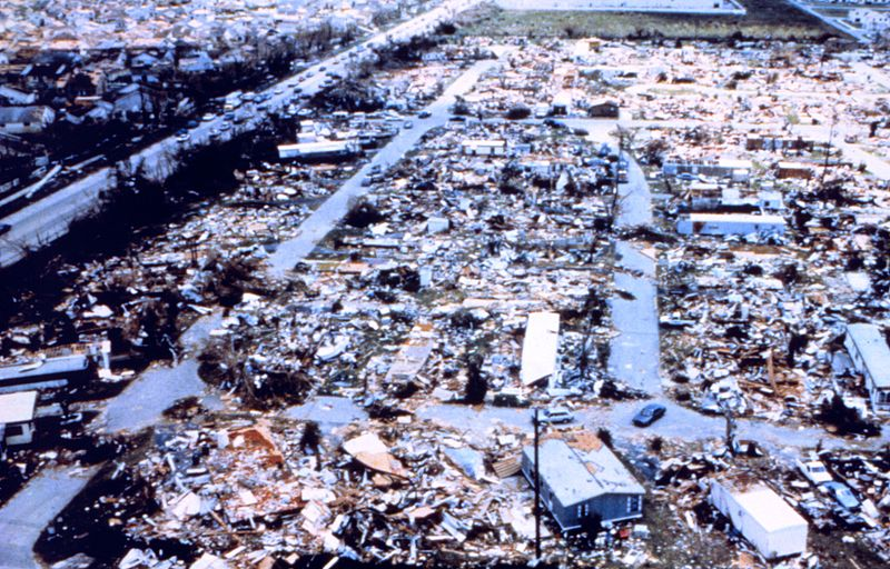 Carbon Based Hurricane Andrew Disaster Brought Florida