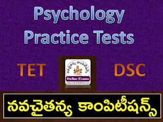 Child development and Pedagogy Practice tests