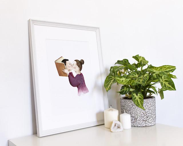 Prints de ilustraciones, láminas de ilustraciones, ilustración a la venta, Mar Villar, Tictail, tienda online, ilustraciones online, ilustraciones a la venta,