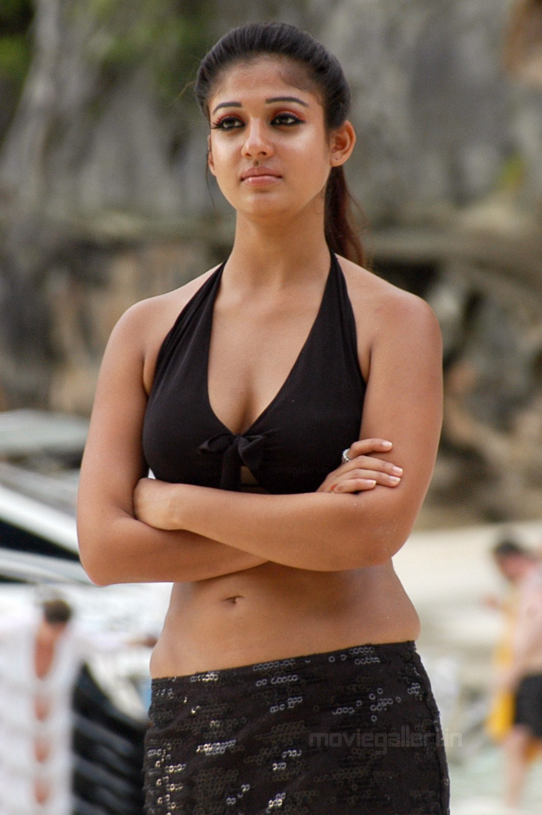 Nayanthara Hot Boobs Pics