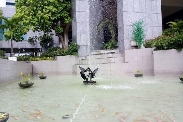 Kolam Ikan DPRD yang Akan Direnovasi dengan Anggaran 620 Juta