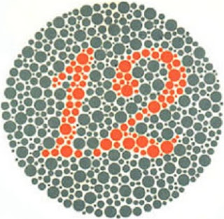 contoh gambar tes buta warna