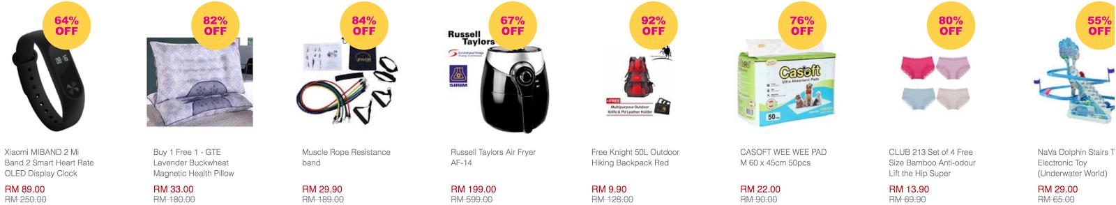 f899202d0e3c Lazada Malaysia 5th Birthday Surprise Flash Sale Price List 24 March ...