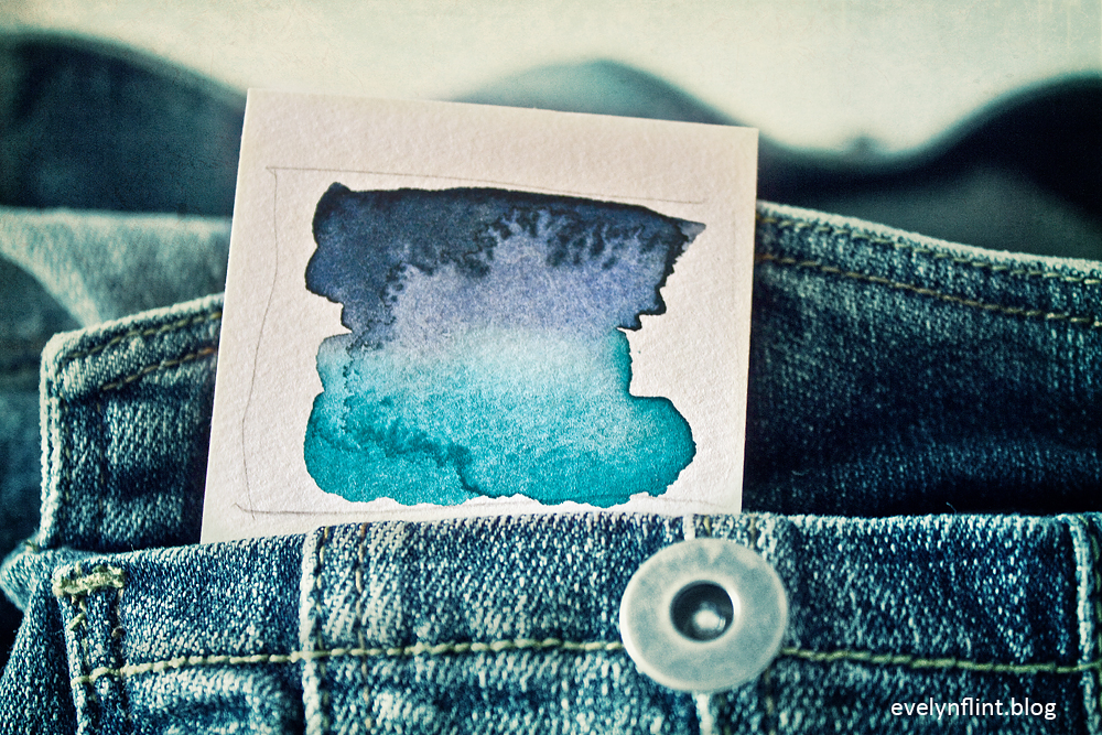 Denim Watercolour