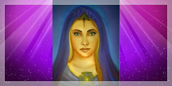 7º Raio  Violeta - Mestra Pórtia