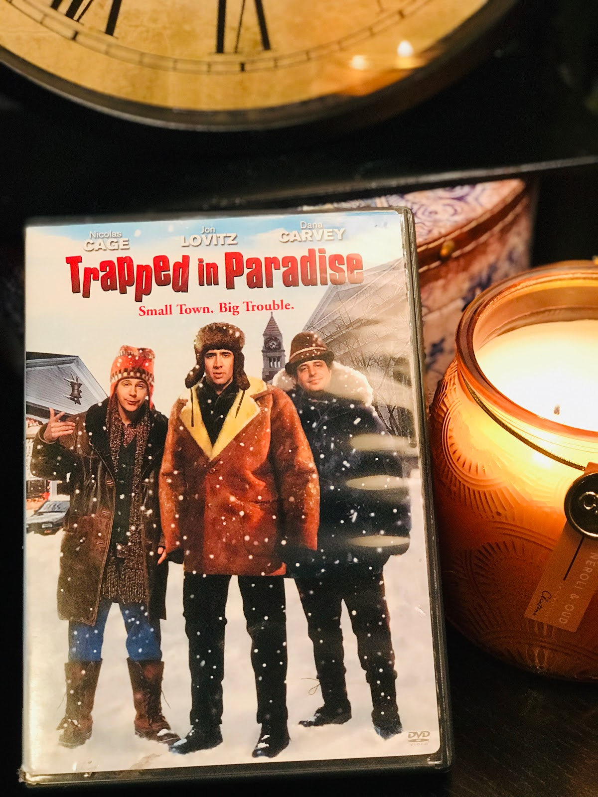 Image: Tangie Bell sharing her weekend movie Trapped in Paradise. Seen first on Bits and Babbles Blog