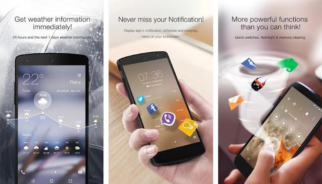 5 Aplikasi Lockscreen Terbaik Dan Terpopuler Di Android