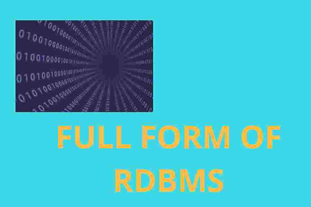 full form of rdbms ||What is RDBMS ||RDBMS DETAILS