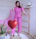 Piyama Pink Polos