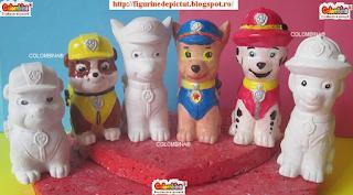 set figurine de pictat de cumparat