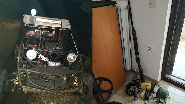 Συλλήψεις στην Αργολίδα για νυχτερινή λαθροθηρία - Κατασχέθηκε όχημα και εξοπλισμός