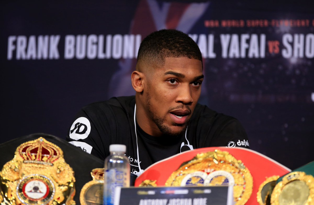 """I Had Thrash Him"" - Anthony Joshua Vows To Defeat Tyson Fury In Fight!"