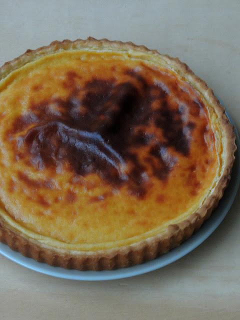 Parisian Custard Pie, Tarte au Flan