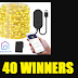 Govvee LED Fairy Lights Giveaway - 40 Winners. Limit One Entry, Ends 10/28/19
