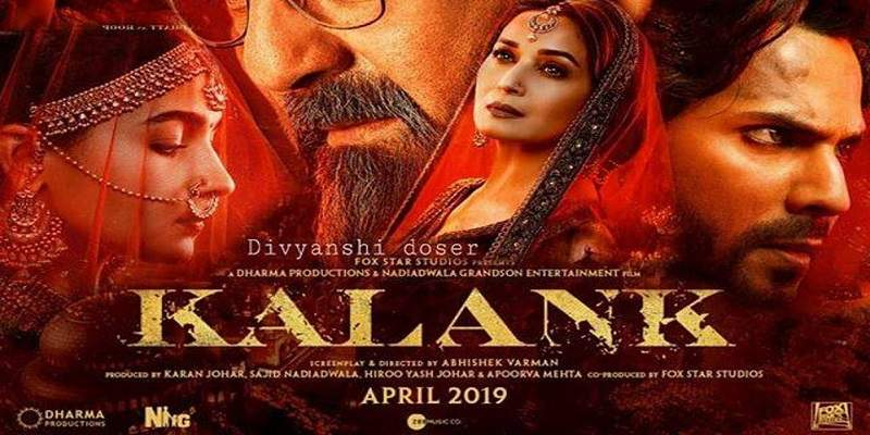 Kalank Advance Booking Poster