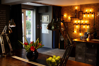luma hammersmith concept hotel review reception area