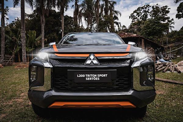 Mitsubishi L200 2021 Triton Sport Sertões - fotos e detalhes