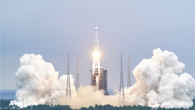 China's Sending Over 20 Rocket's To Save Earth From Armageddon.