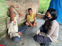 Kisah Heroik Bripda Tika Sinaga, Personil Ditsamapta Polda Sumut Galang Dana untuk Penderita Kanker Mata