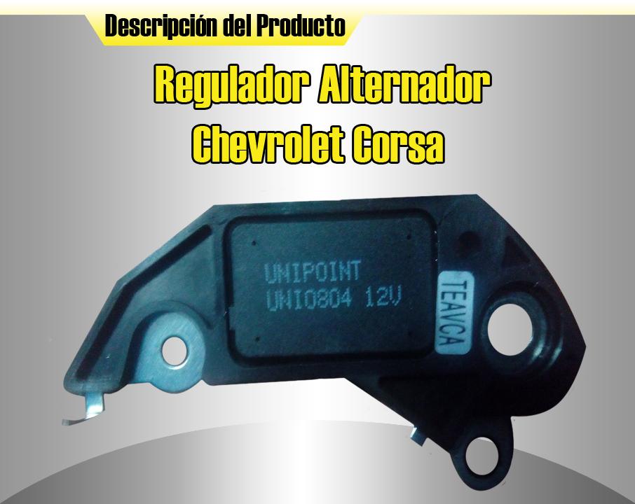 Inversiones Gt Ca Regulador Alternador Chevrolet Corsa