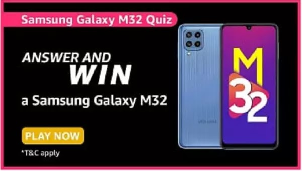 What is the camera setup on the Galaxy M32?