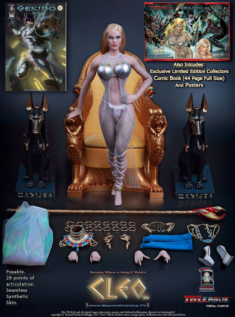 osw.zone TBLeague 1 / 6th Scale Coco Austin as Cleo: Goddess of Seduction Action Figure (Deluxe)