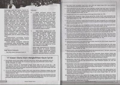Majalah Resmi: Tabligh Muhammadiyah Mengulas 17 Alasan Ulama Kafirkan Syi'ah