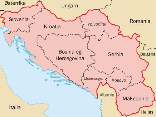 Ripasso Facile Riassunto Guerre In Jugoslavia