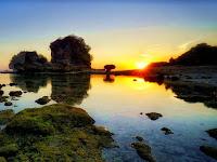 Pantai Watu Leter Malang, Info (Lokasi dan Rute Jalan)
