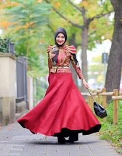 model baju lebaran ala dian pelangi 2019