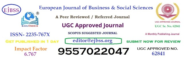Call for Papers for UGC Approved - European Journal of Business and Social Sciences