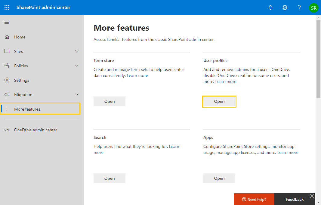 powershell to get all user profiles in sharepoint online