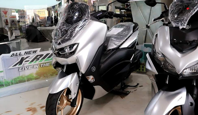 All New Nmax 155 Conneted Standar Upgrade Prestige Silver