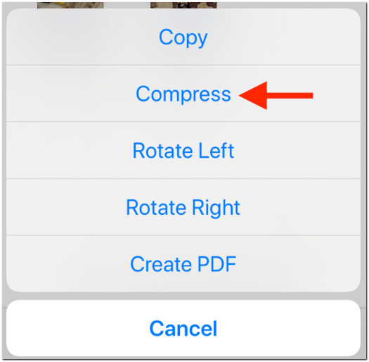 How to compress and decompress files on iPhone, iPad, iPod Touch