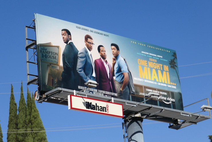 One Night in Miami movie billboard