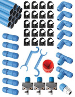 rapidair diy aluminum air compressor piping system