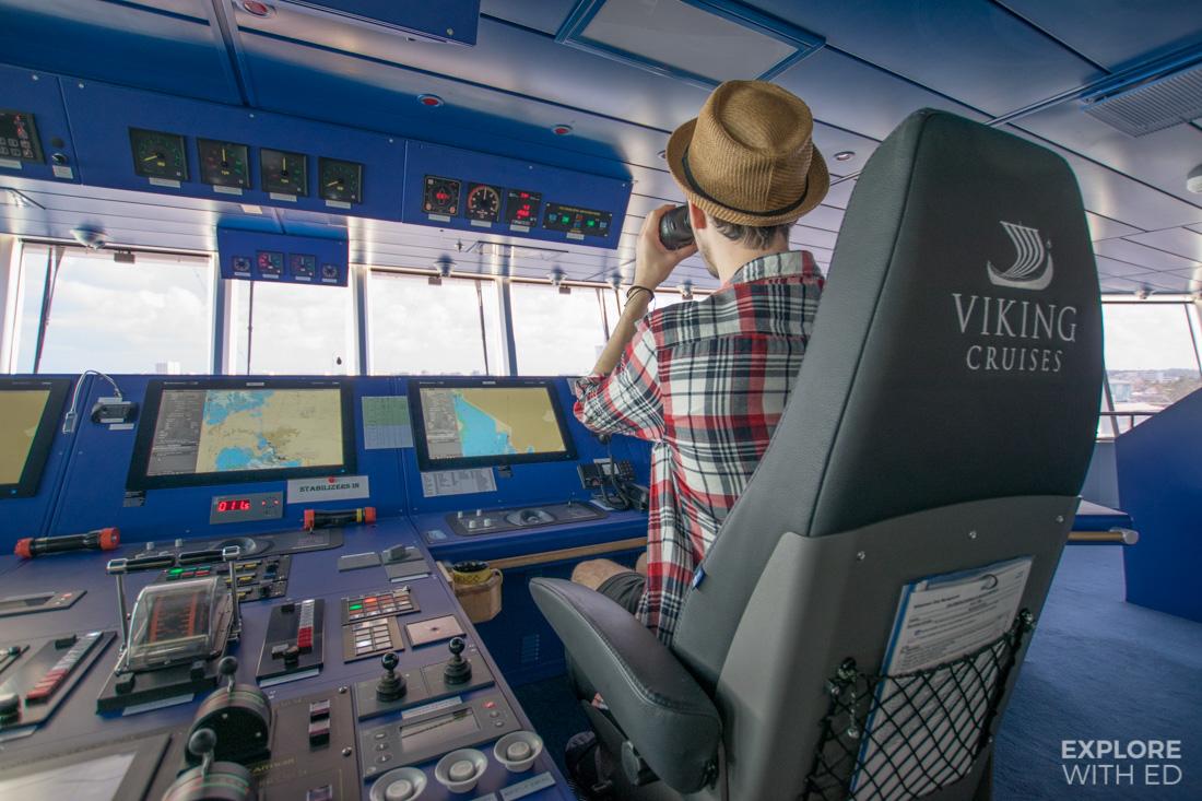 Viking Cruises Captains Bridge