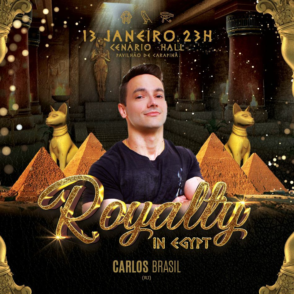 Carlos Brasil - Royalty In Egypt