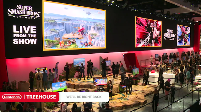 Nintendo E3 2018 booth Super Smash Bros. Ultimate Bowser