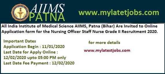 aiims-patna-nursing-officer