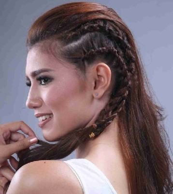 model rambut pesta 2019
